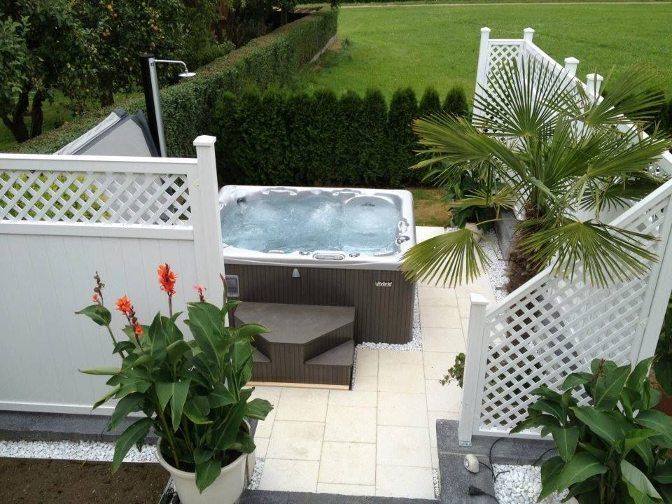 Great hot tub installation. Included here is