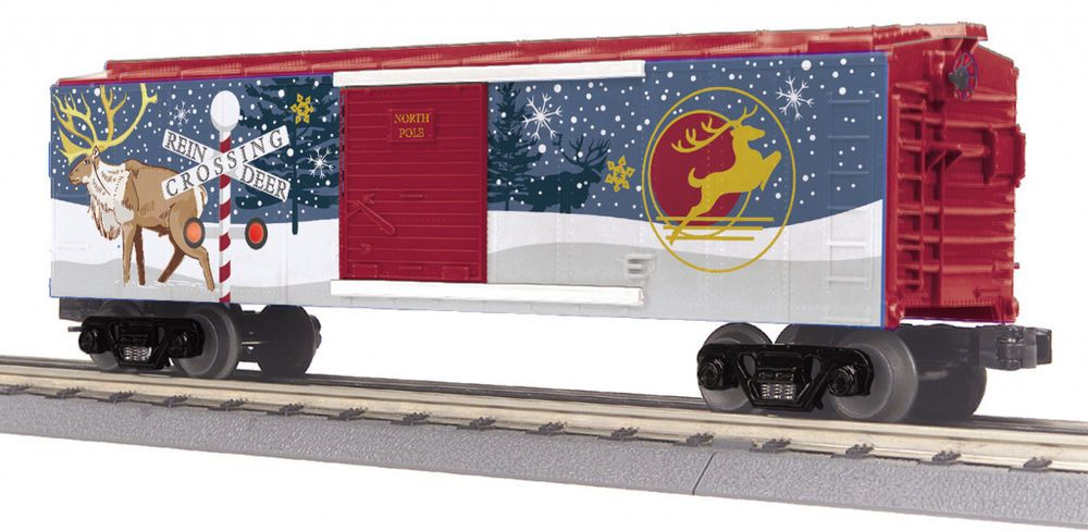 MTH Christmas Train 7 different Cars all with track powered LED