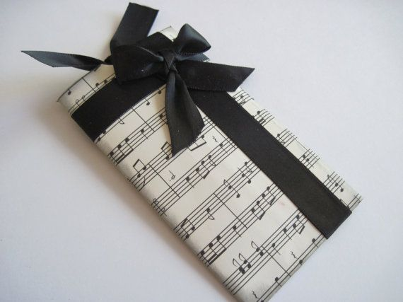 Upcycle Recycled Toilettissue Roll Gift Card Holder Music Etsy Gift Card Holder Paper Tree Toilet Paper Trees