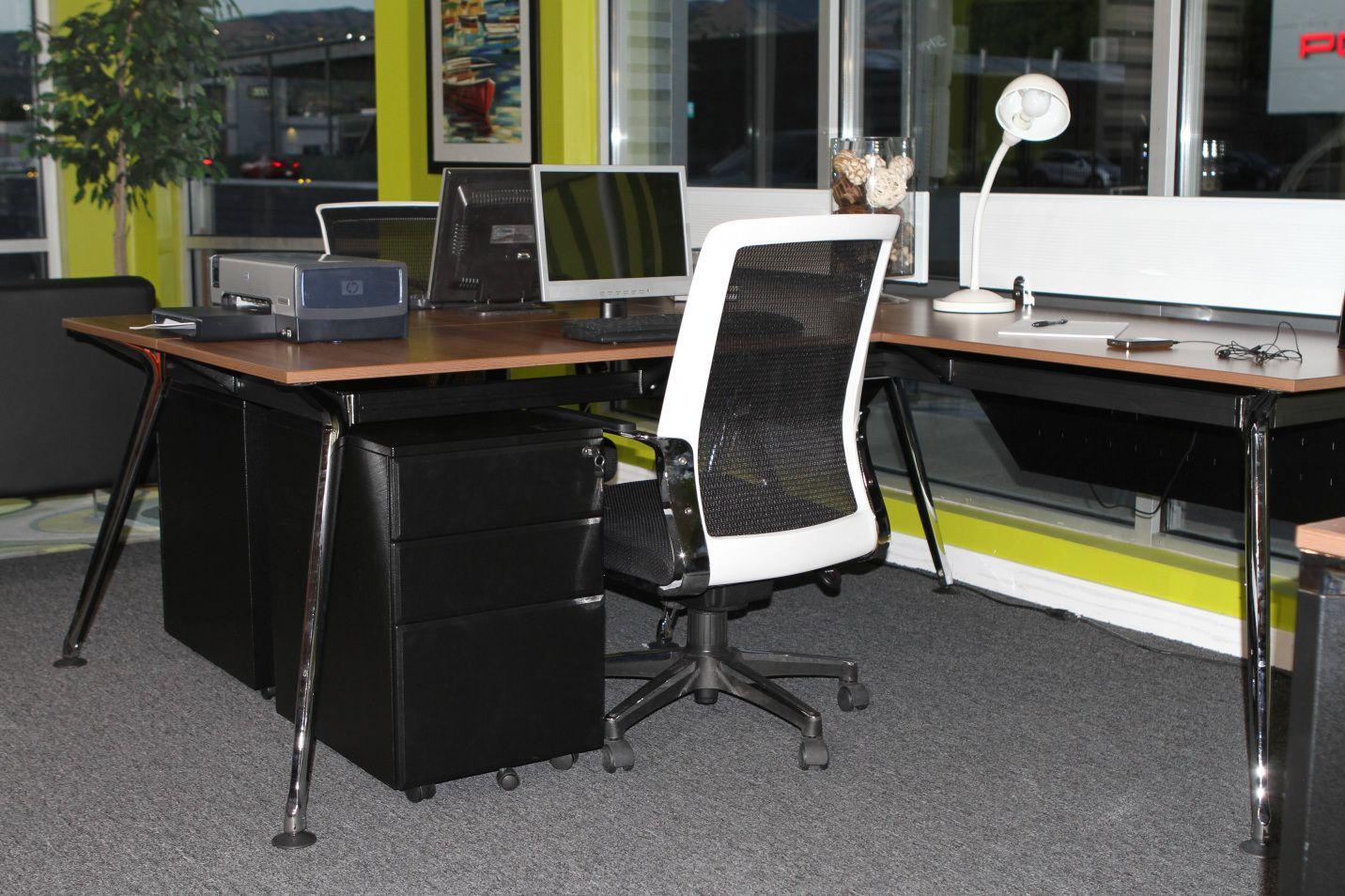 Used Office Furniture Desks Modern Home
