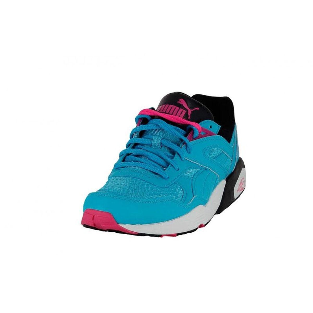 Femme PUMA Basket Puma Trinomic R698 Sport 357331 03 Bleu
