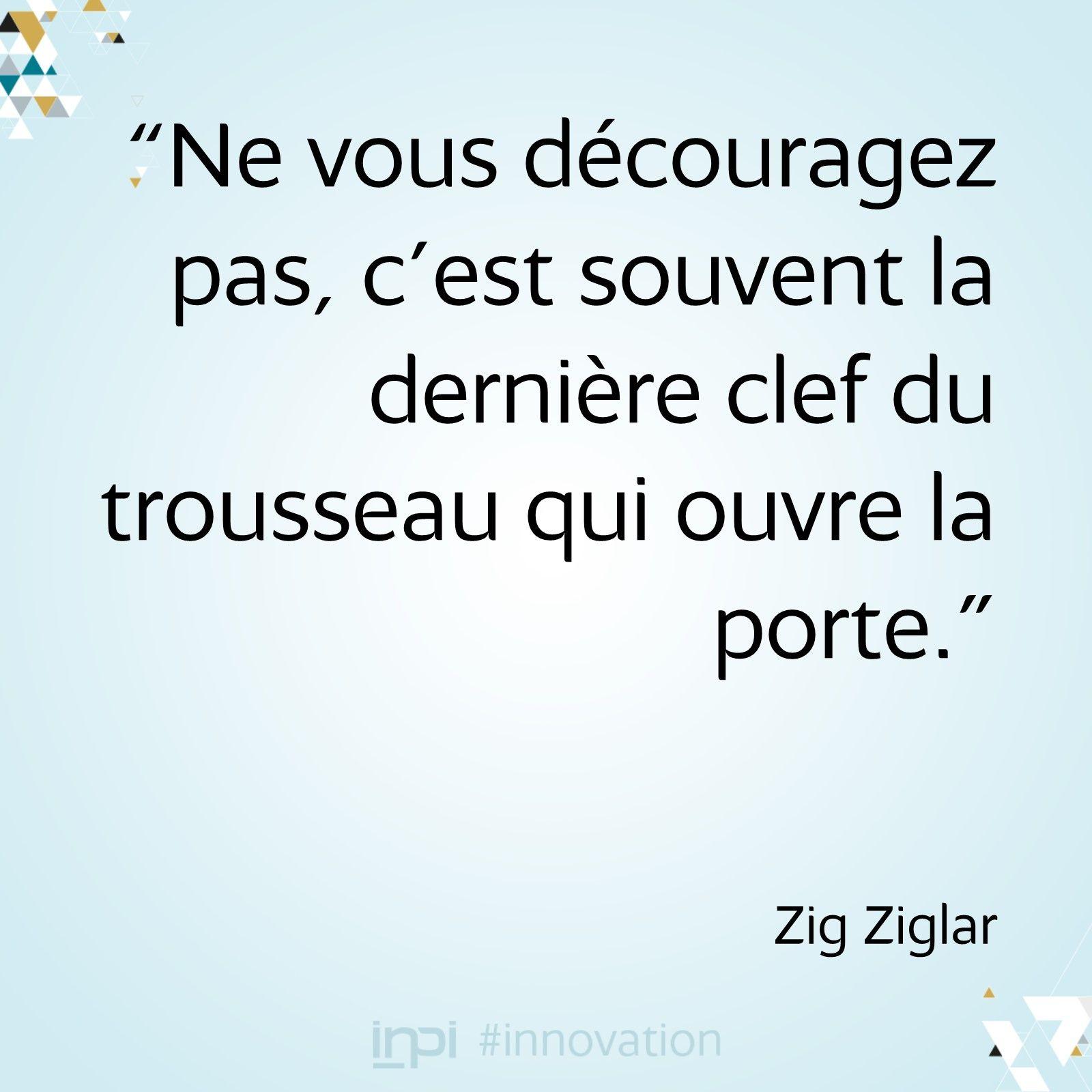 Citation Sur La Determination Zig Ziglar Avec Images