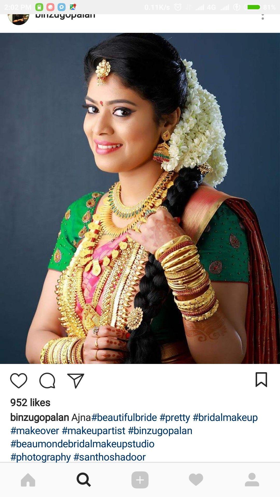 pin by sruthi sivaprakash on bridal hairstyle in 2019
