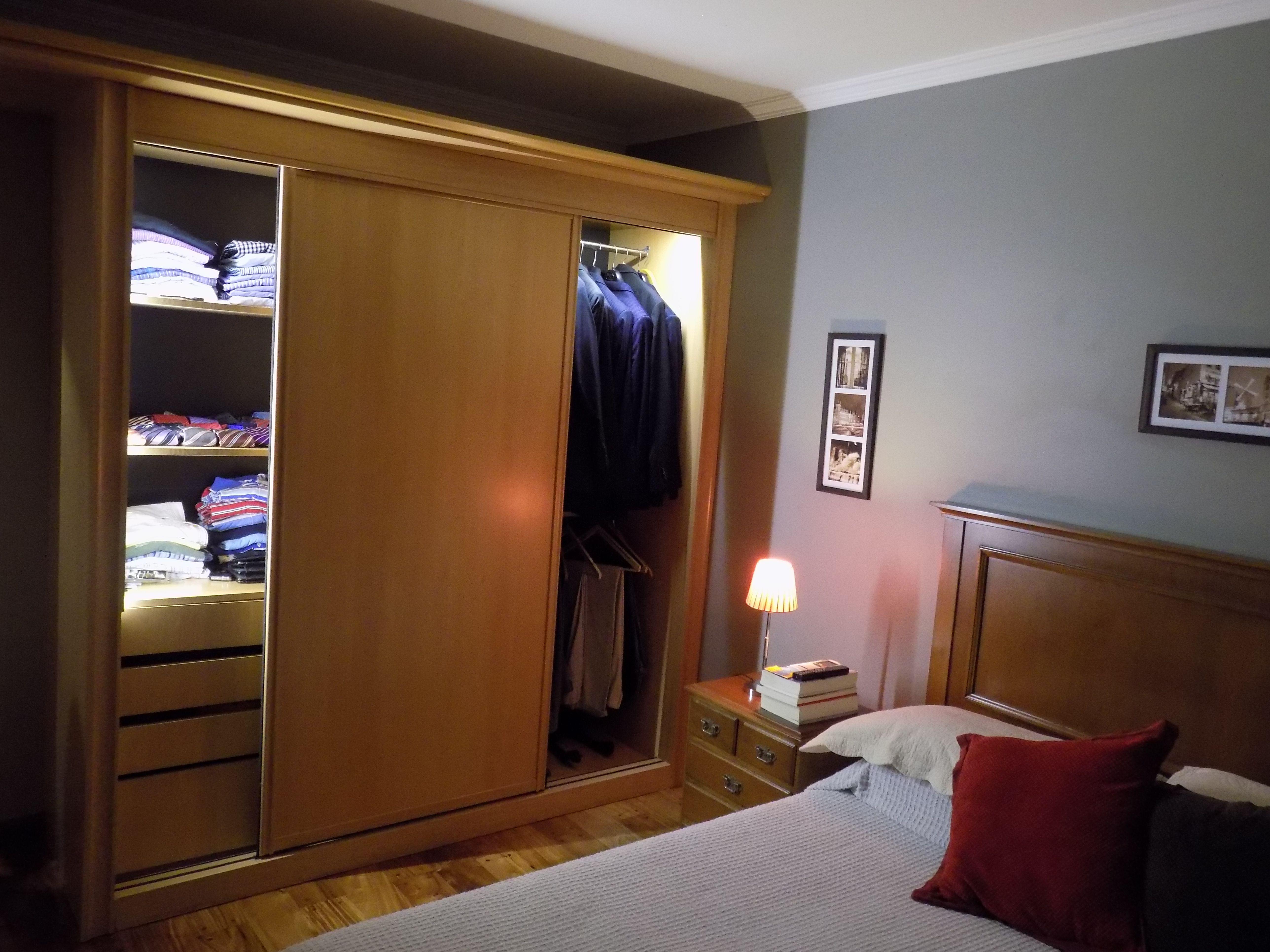 Dormitorio Iluminacion Interior De Placard Www Facebook Com  ~ Decoracion Interiores Dormitorios
