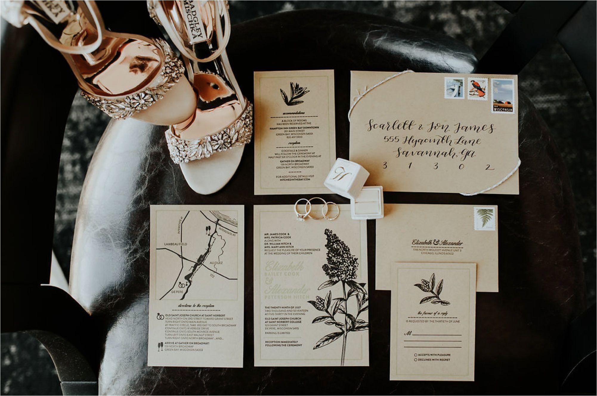 Gather on Broadway Green Bay Wedding Photographer