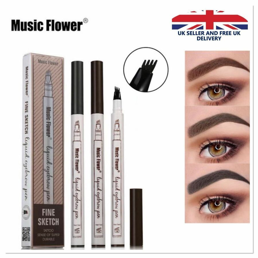 Details About Microblading Tattoo Eyebrow 3d Liquid Ink Pen