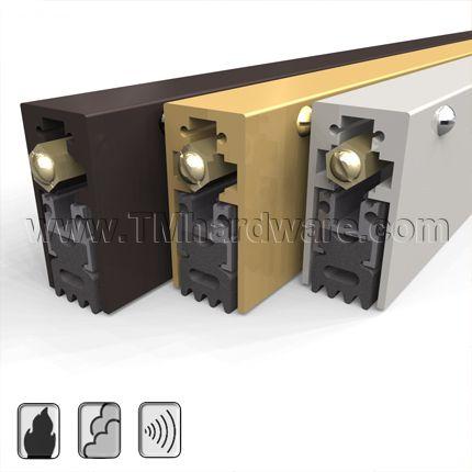 Automatic Door Bottom Surface Mounted Heavy Duty Sponge Neoprene Seal 1 Drop For Music Room Door Estudio