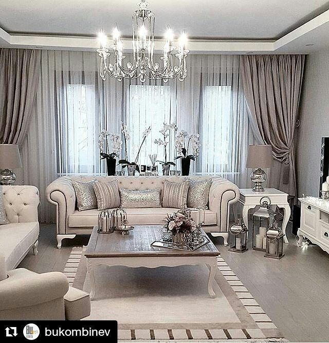 Curtain Ideas For Living Room, Curtains Living Rooms, Living Room Decor  Ideas Grey,
