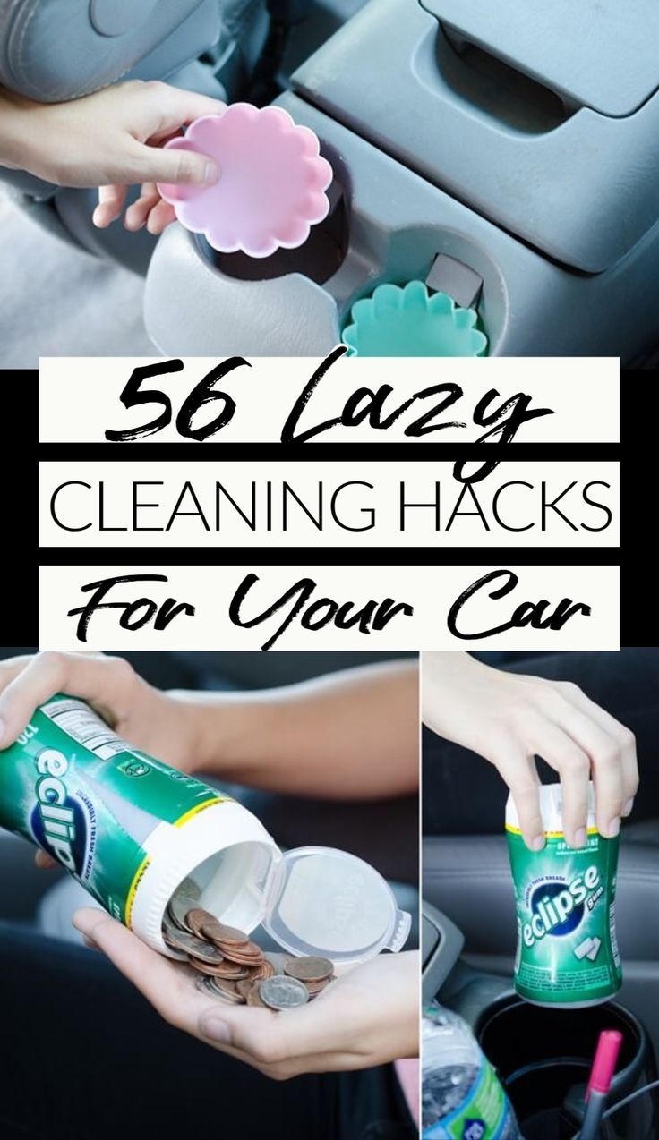 56 Car Cleaning Hacks You'll Wish You'd Known Sooner #cleaningcars