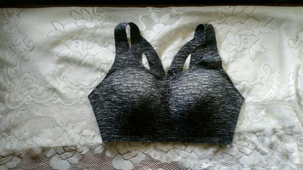 Victorias Secret Sport Bra 36D Angle Max no wire Nwot full