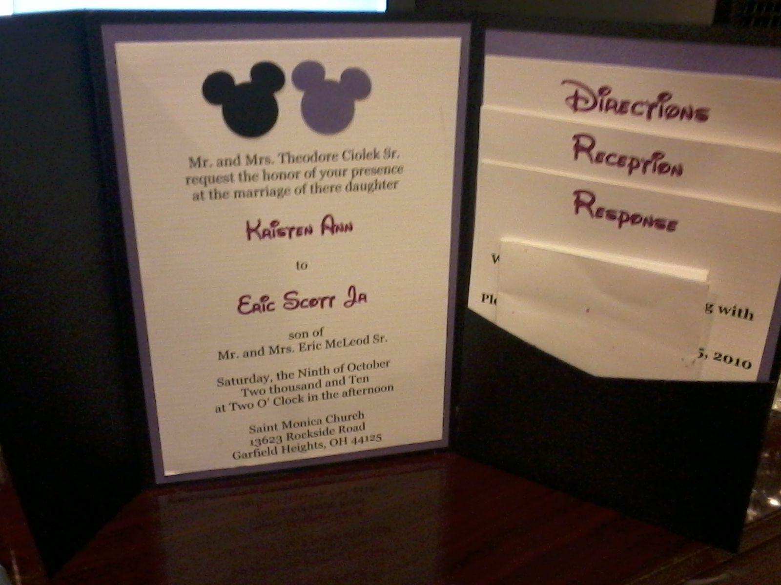 Homemade Wedding invitations Wixcom Homemade wedding