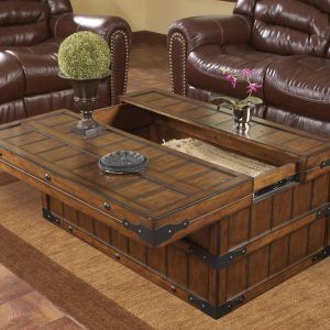 Trunk Coffee Table With Storage