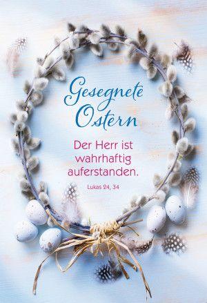 Photo of Glückwunschkarte Gesegnete Ostern