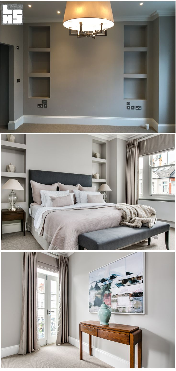 London Home Staging Before and After Parsons Green