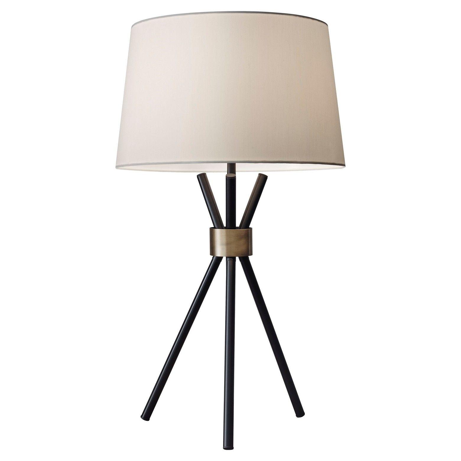 adesso benson table lamp black in 2018 sheisley pinterest rh in pinterest com