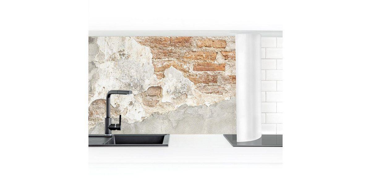 Bilderwelten Kuchenruckwand Shabby Backstein Wand Online Kaufen Otto Kuchenruckwand Shabby Backstein Wand In 2020 Kid Bathroom Decor Room Furnishing Brick Wall