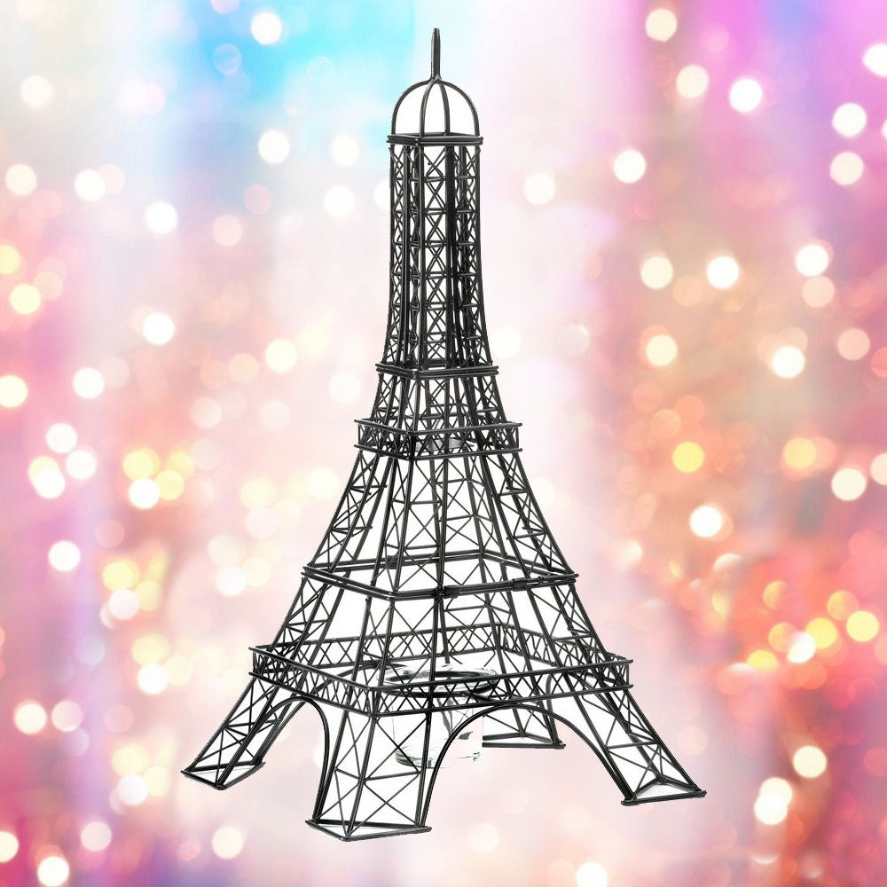 Paris Eiffel Tower Candle Holder Etsy Candle Holders Paris Eiffel Tower Candle Fire