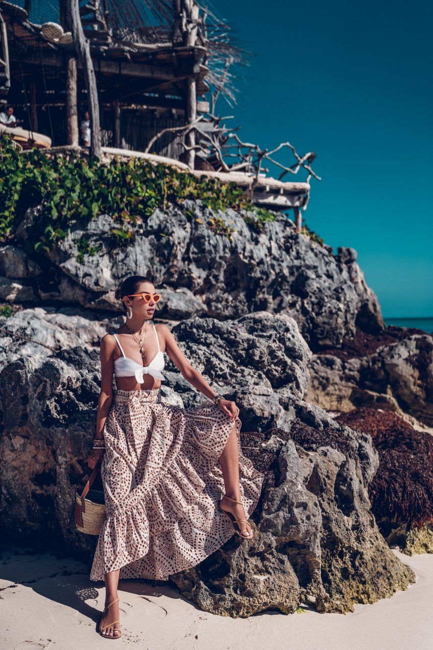Our Stay at Azulik Tulum #vacationoutfits