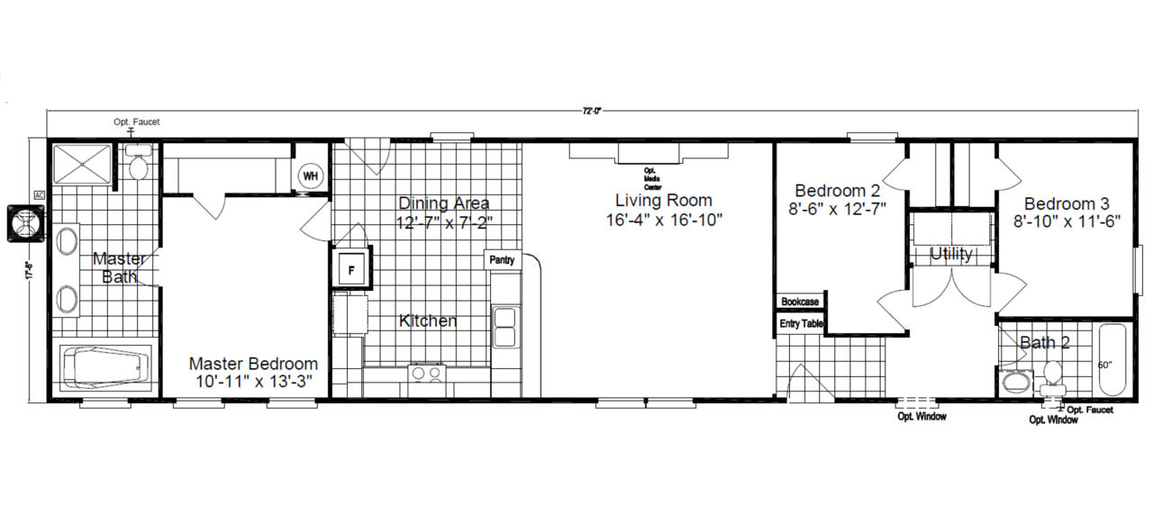 The Southland Floor Plan Palm Harbor Homes By Michelle Mohrle 469 285 2518 Mobile Home Floor Plans Floor Plans Remodeling Mobile Homes