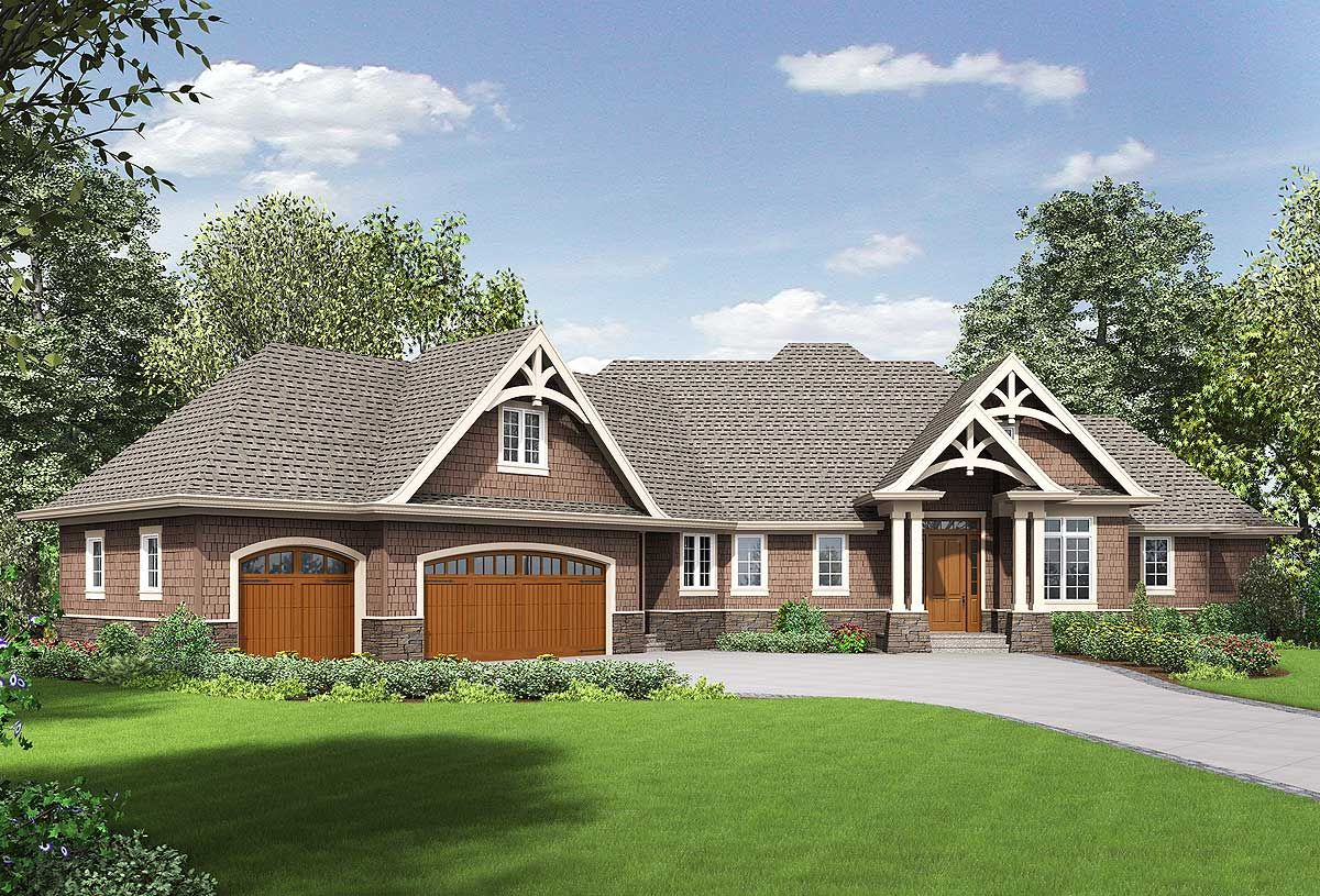 3 Bed Angled Ranch with Finished Lower