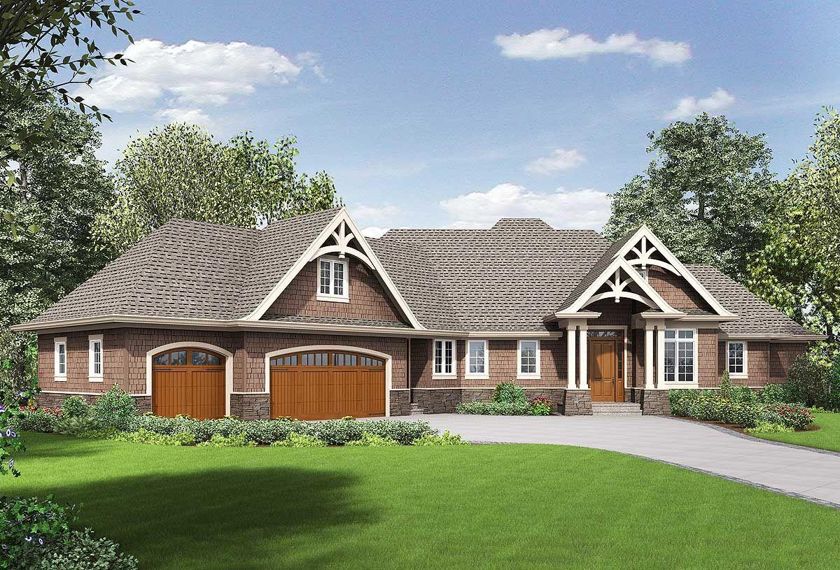 Architectural design house plans Plan 69604AM 3