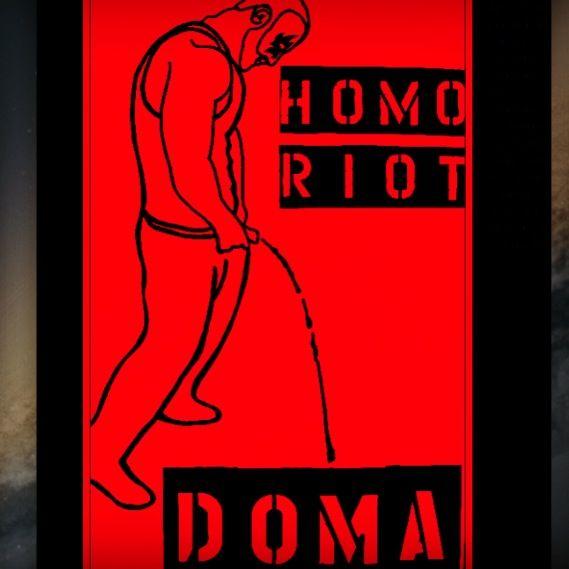 Homo Riot #homoriot #DOMA #SCOTUS , Los Angeles Street Art , #homoriot #losangelesstreetart #losangelesqueer #gayart