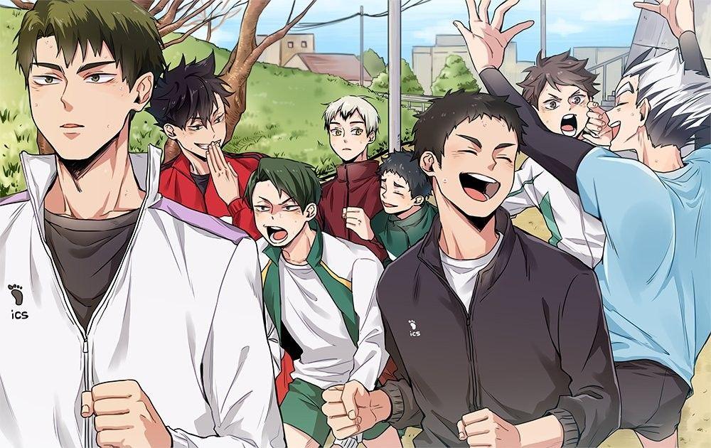 Captains Haikyuu Anime Haikyuu Manga Haikyuu Characters
