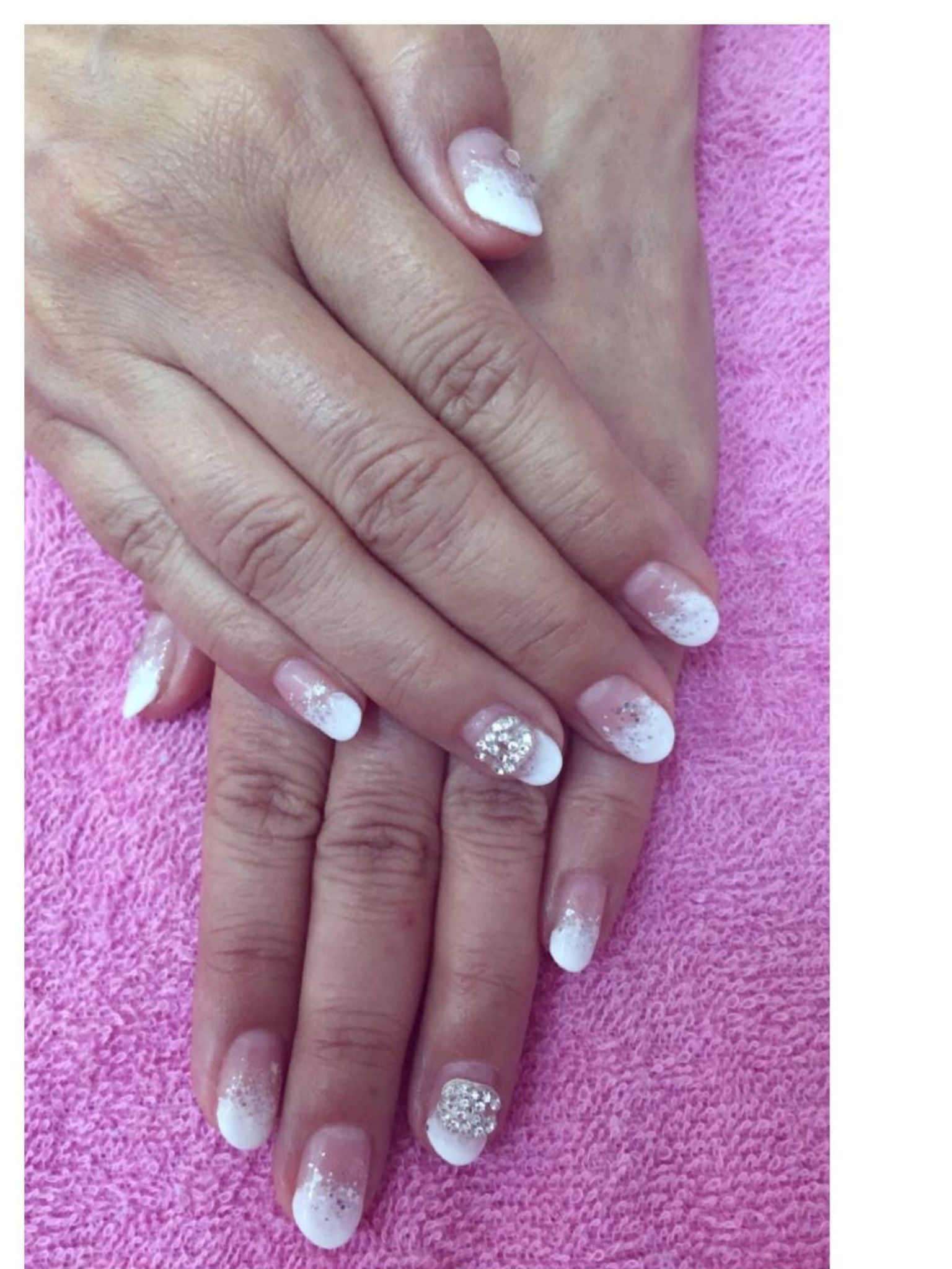 Whats App 92258878 To Book Appointment Wedding Nail Design