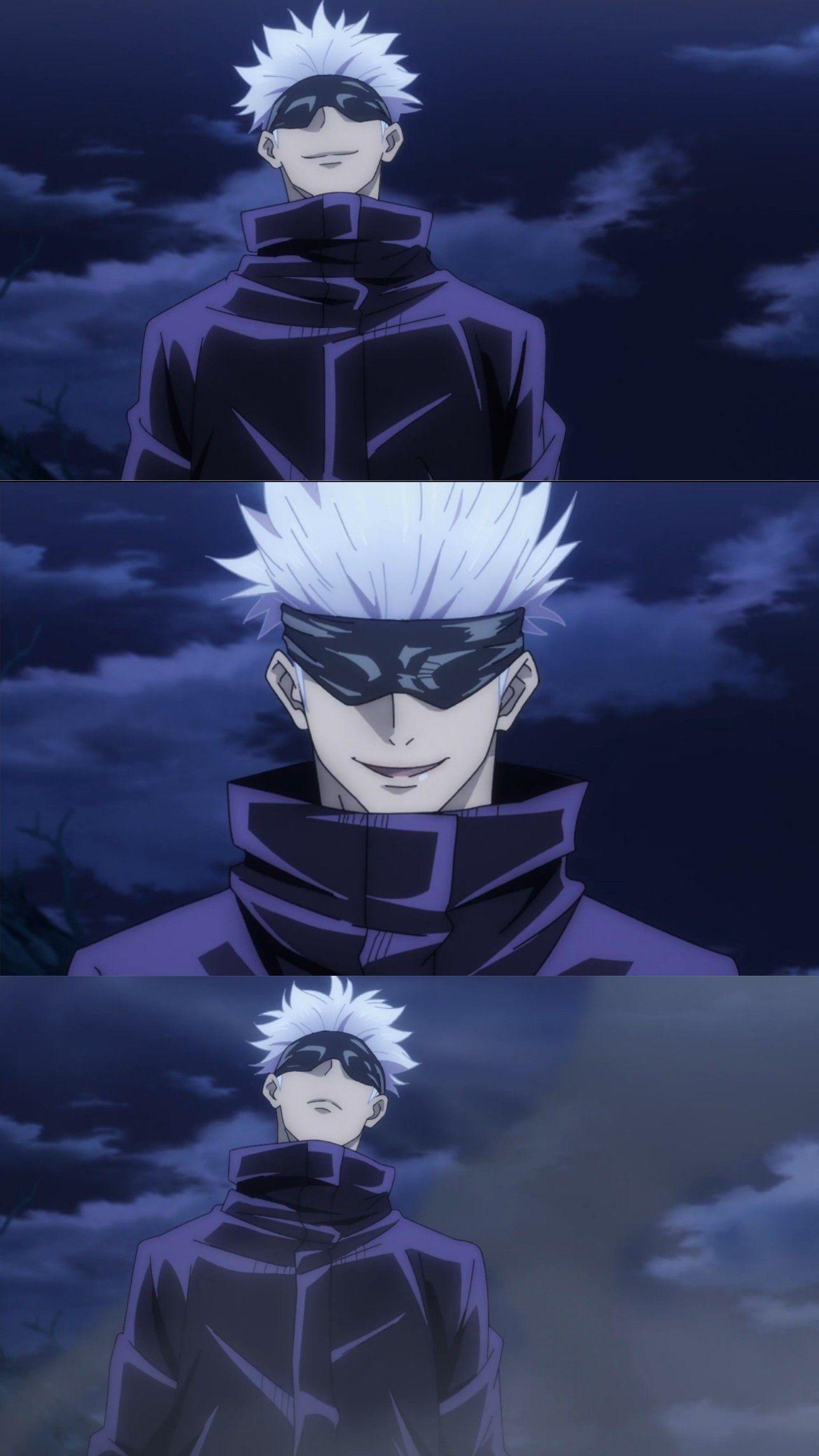Gojo Satoru Jujutsu Anime Anime Characters