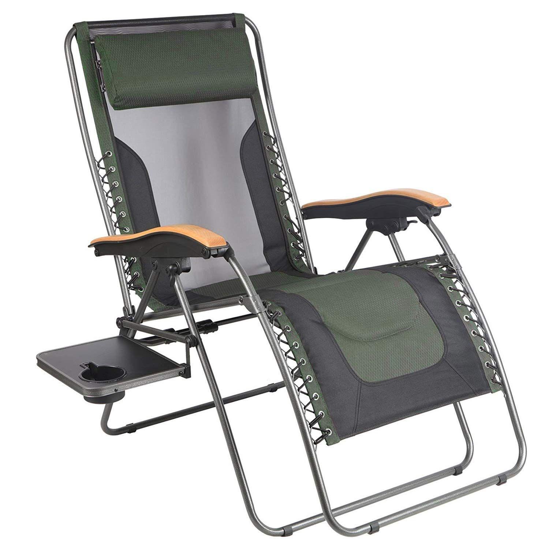 Portal Oversized Mesh Back Zero Gravity Recliner Chairs Xl Padded