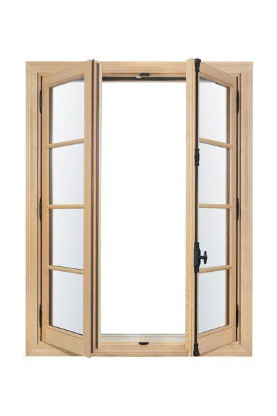 In Swing French Casement Wood Window In Swing French Casement Natural Wood French Casement Windows Wood Windows Casement