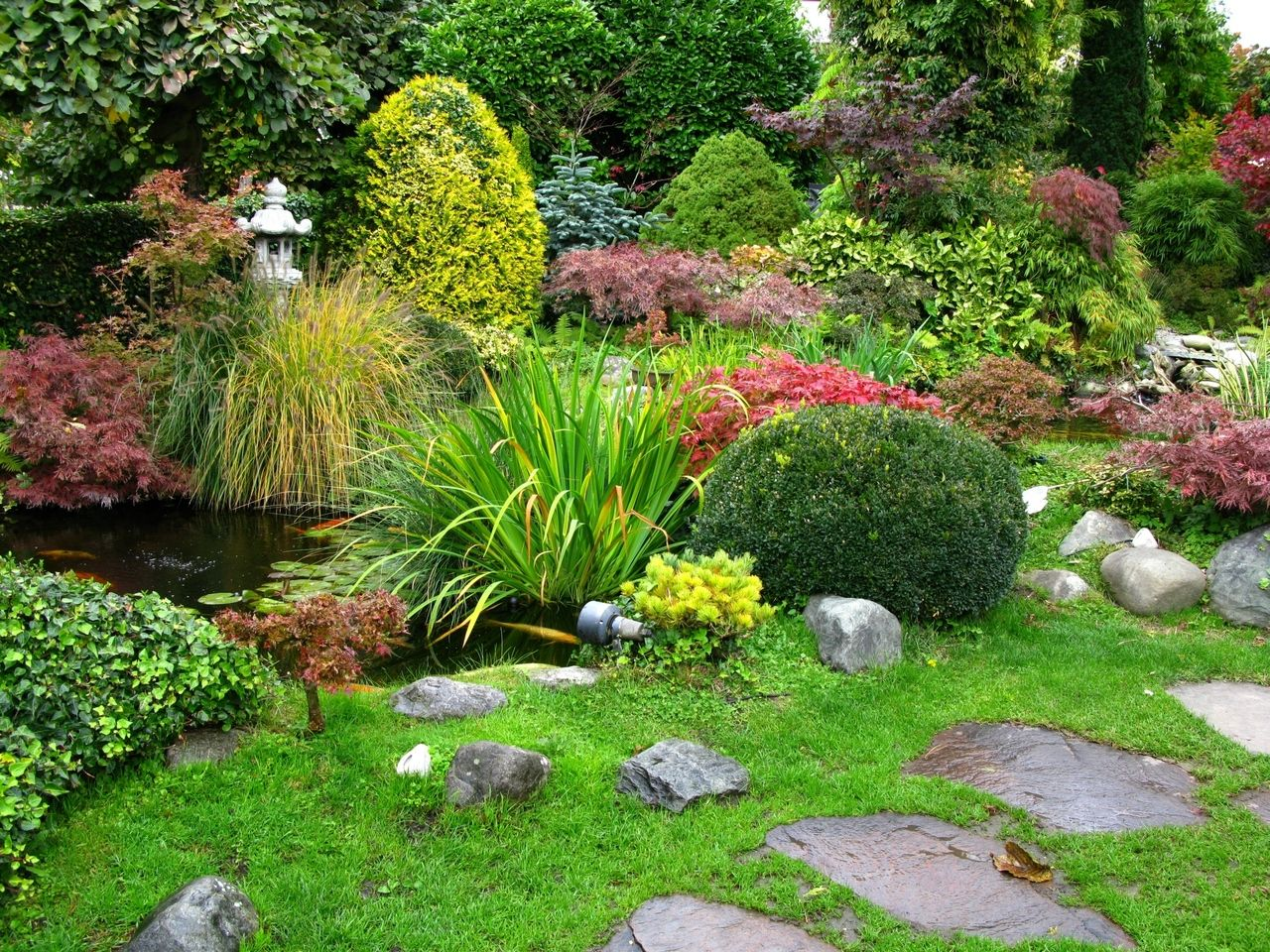 ideas bsicas para el diseo de jardines exteriores - Decoracion De Jardines Exteriores