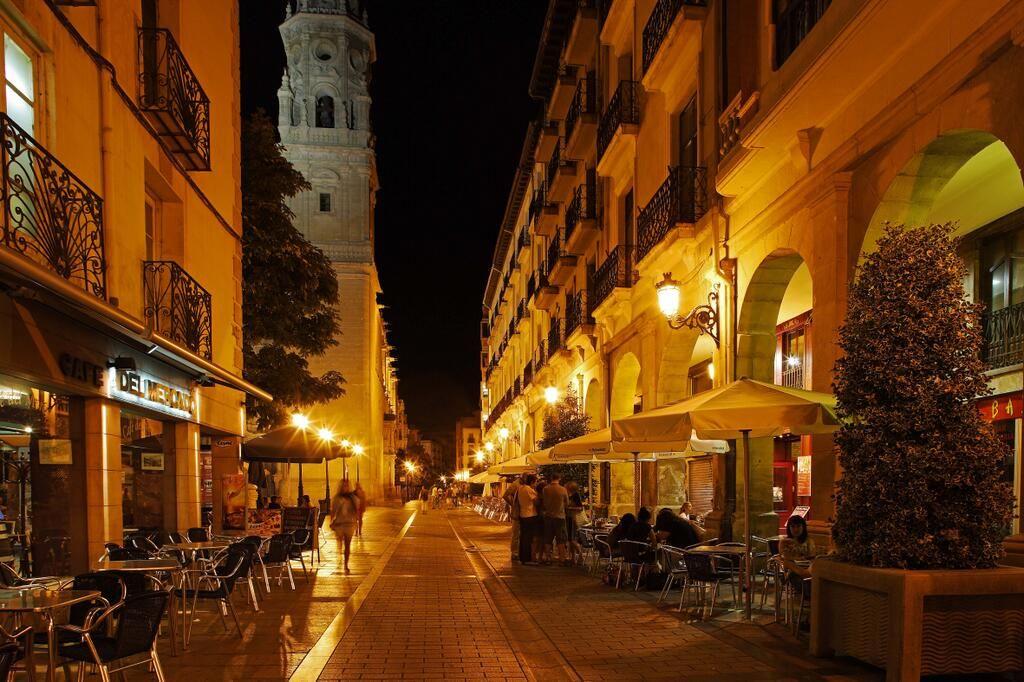 Calle Portales de Logroño.