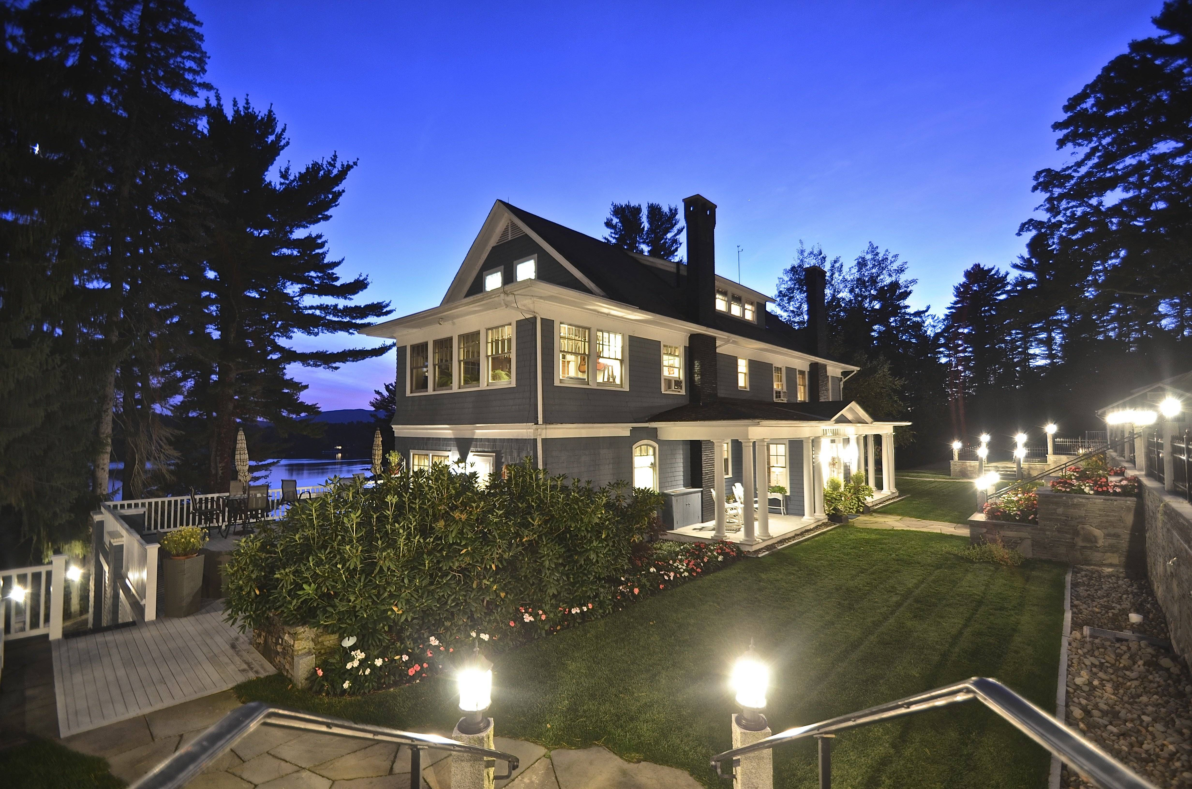 New Hampshire Lake House Gallery Image Iransafebox Waterfront Homes Maine Real Estate Luxury Estate