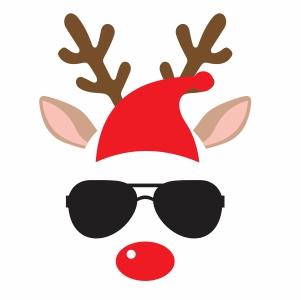 Pin On Christmas Reindeer Svg