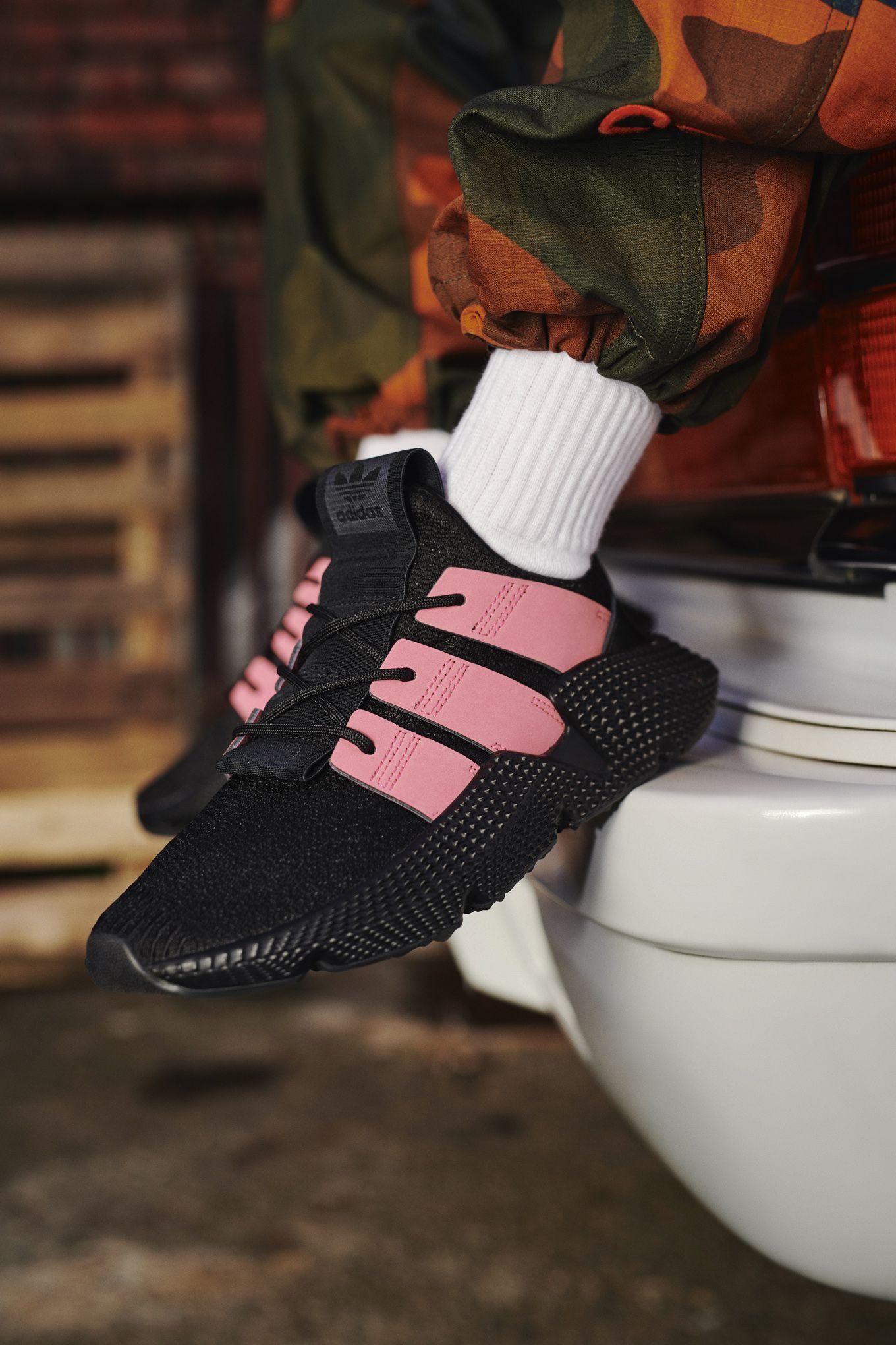 adidas nere e rosa