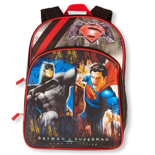 Boys Boys Batman V Superman 'Dawn Of Justice' Backpack - Multi - The Children's Place