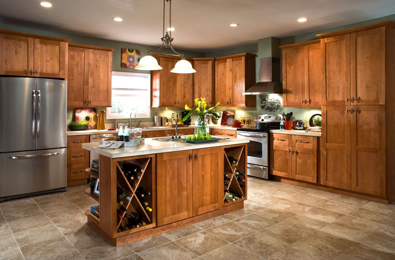 Shop our Kitchen Cabinets Department to customize your ...