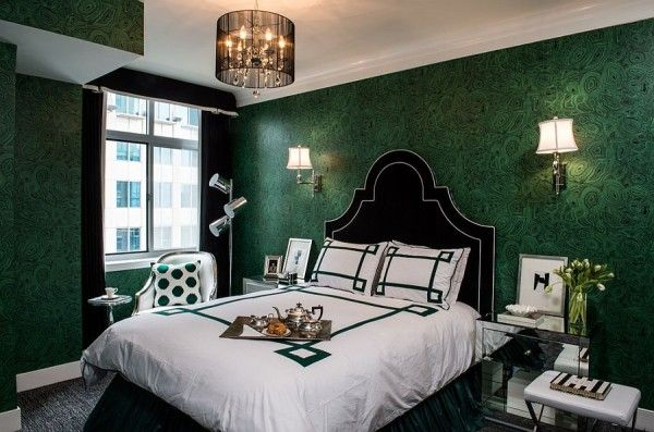 25 Chic And Serene Green Bedroom Ideas Green Bedroom Walls Green Bedroom Design Green Master Bedroom