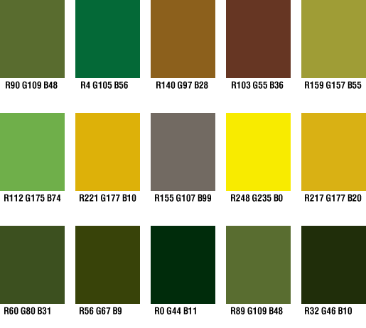 Military Color Palette