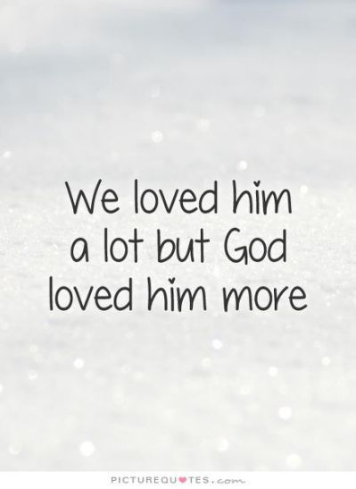 Loss Of A Loved One Quotes And