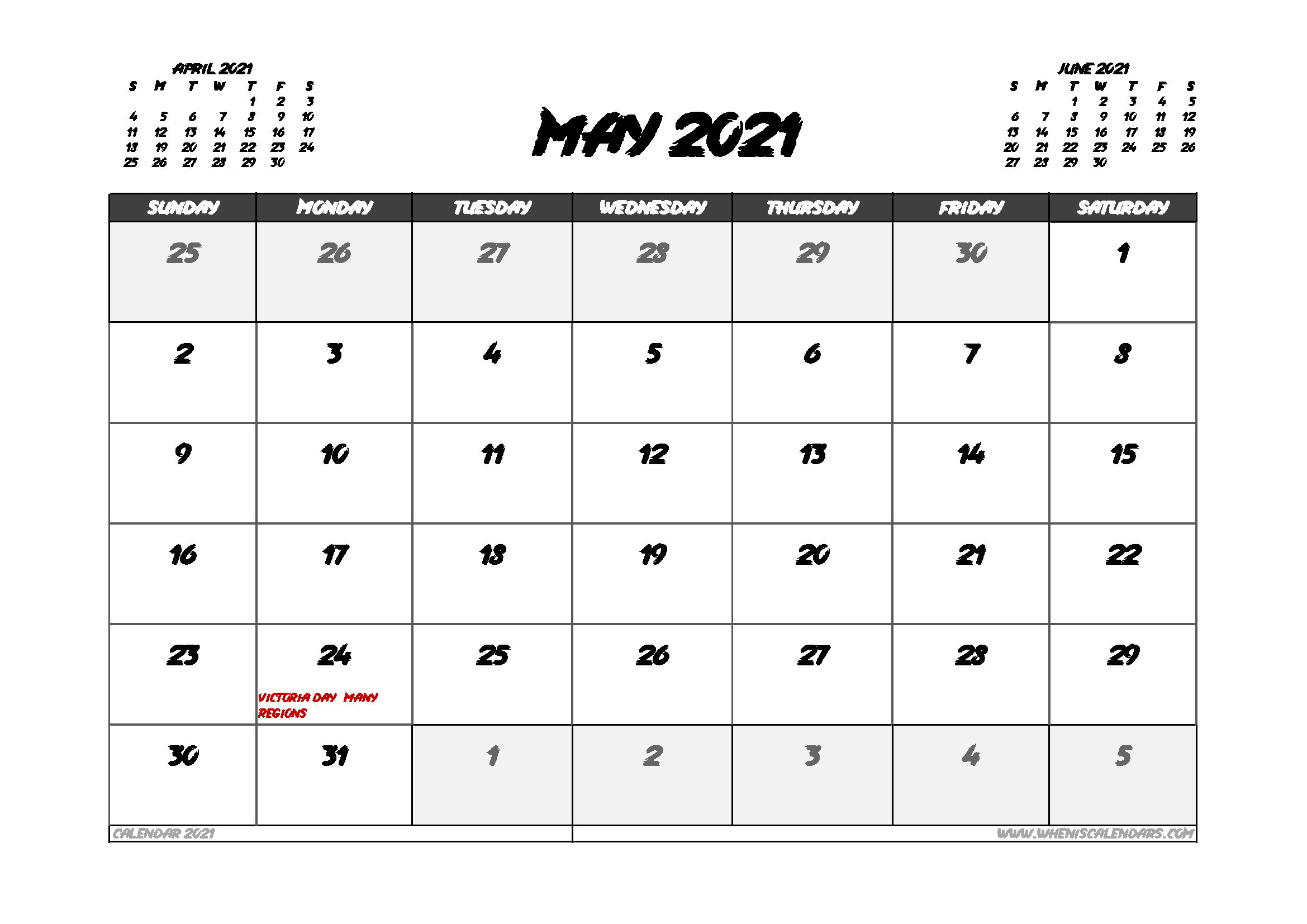 May 2021 Calendar Canada With Holidays In 2020 Calendar Uk 2021 Calendar Calendar