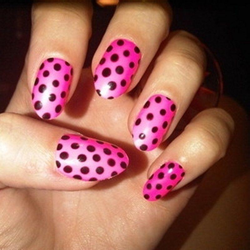 Nails art cool nail art tape designstape nail designs tumblr nails art cool nail art tape designstape nail designs tumblr pink polka dotspolka sciox Images