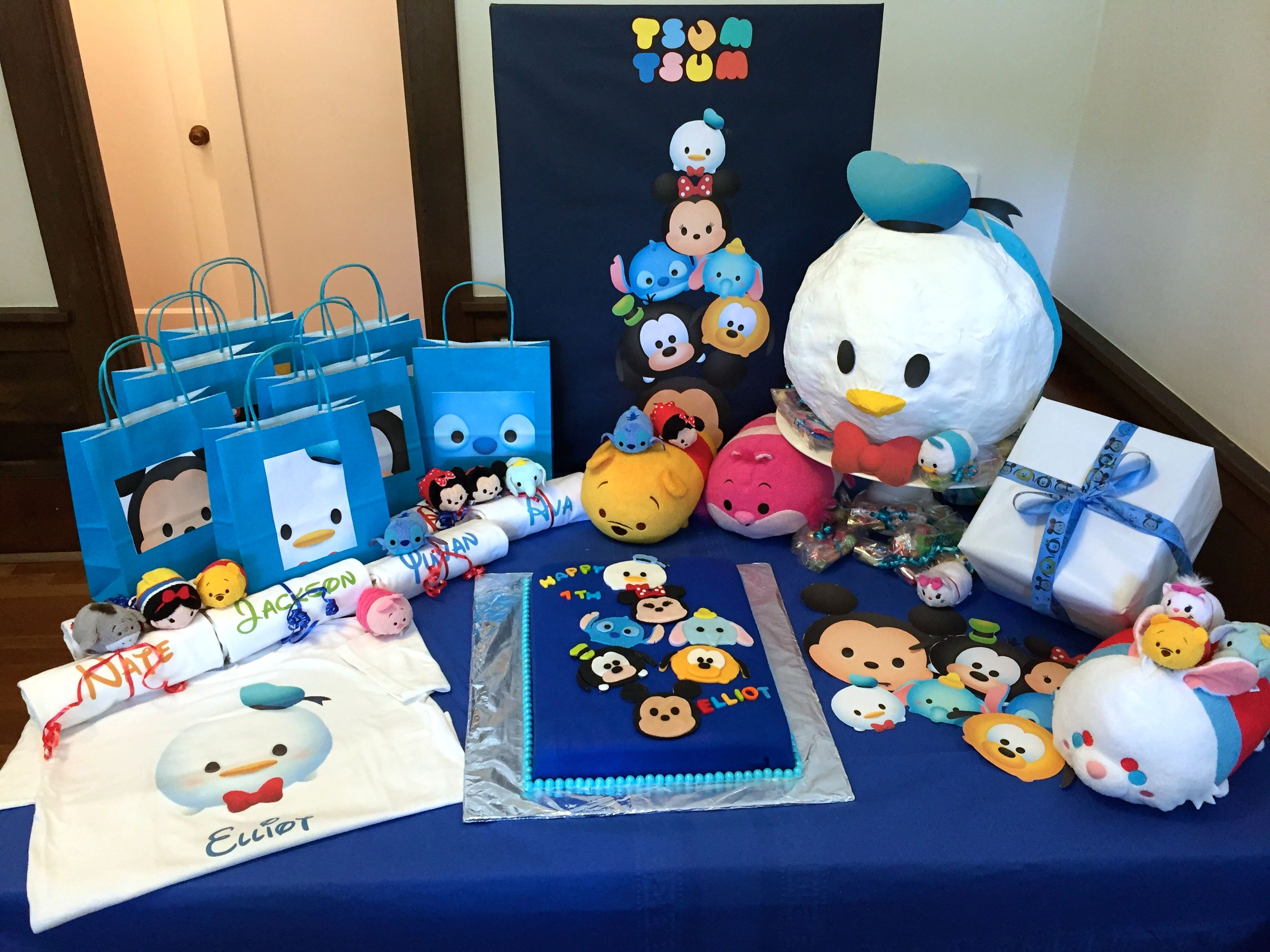 free online birthday invitation creation%0A Making A Tsum Tsum Birthday Party