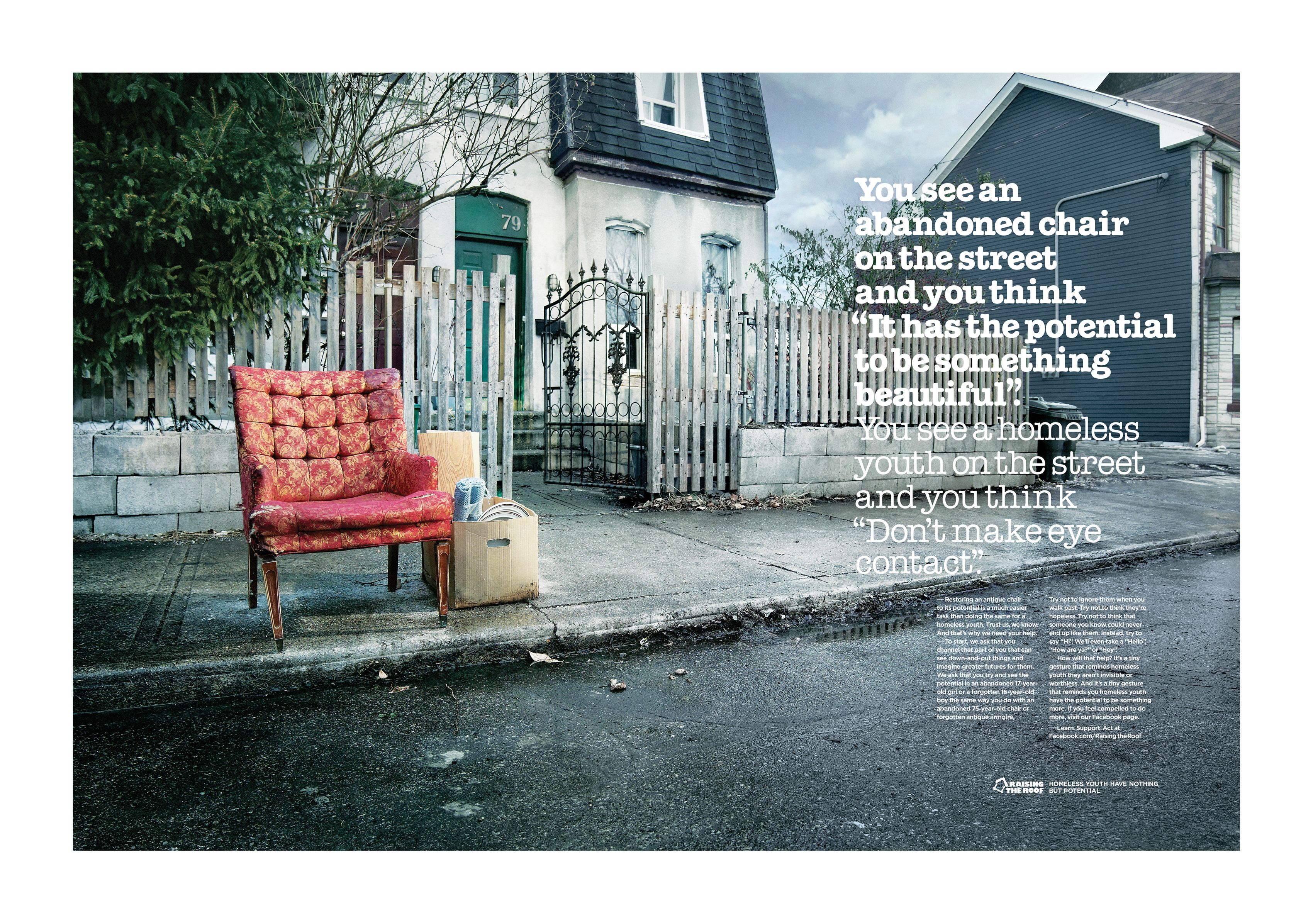 Image result for homeless advertising campaign | Homelessnes ...