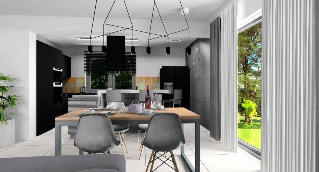 Projekt Wnetrza Salonu Z Kuchnia I Jadalnia Nowoczesna Aranzacja Home Decor Home Decor