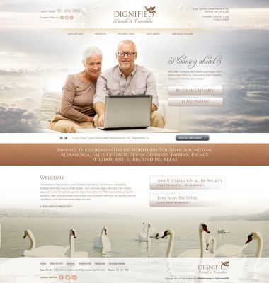 Funeral Homes Website Design And Marketing By #Optimized360