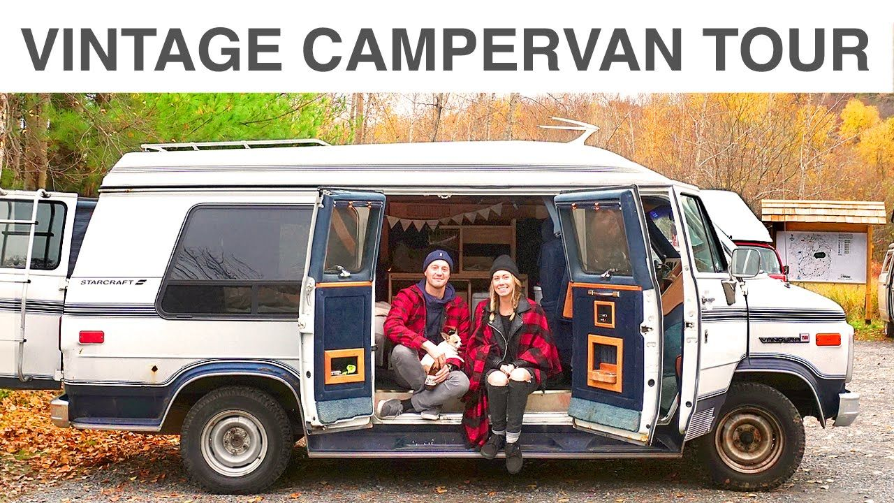 In This Video We Take A Tour Of A Vintage 1989 Gmc Vandura Camper