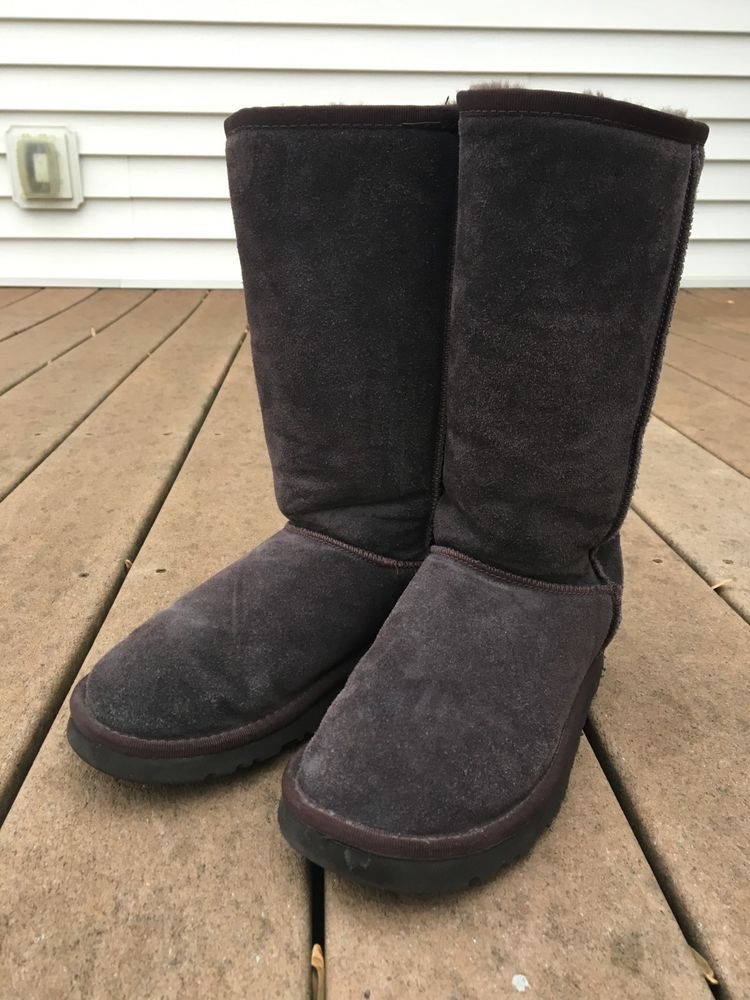 c9e18517bb9 UGG Women's Classic Tall Chocolate Brown 5815 Boots Size 7 #fashion ...