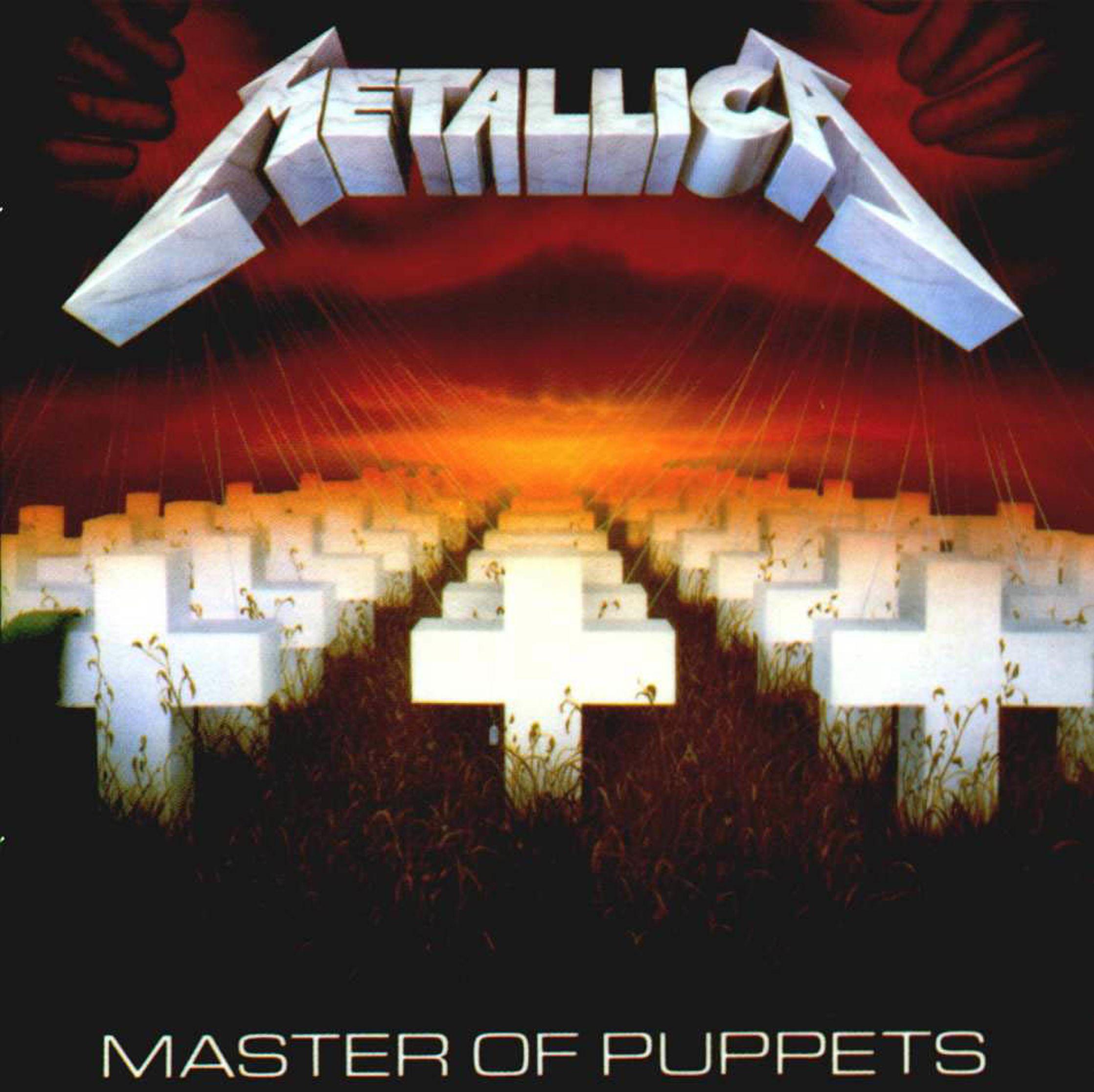 Metallica Master of Puppets 1986 | Album Cover Art ...